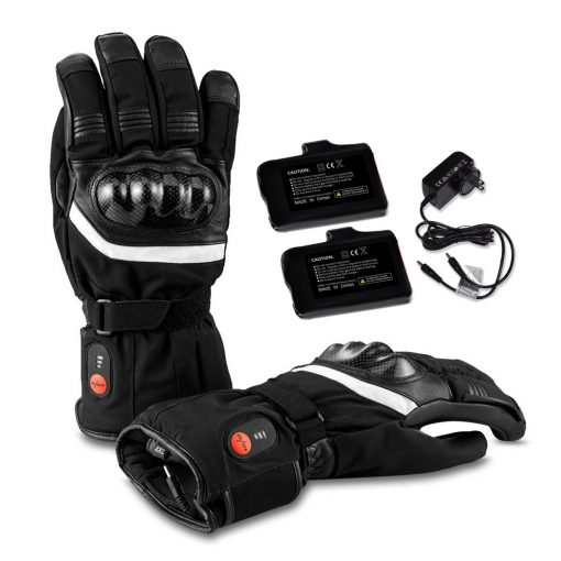 Thick Heated Motorcycle Gloves