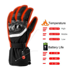 Thick Heated Motorcycle Gloves 9