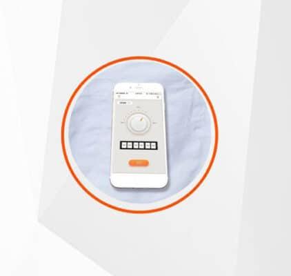 Bluetooth app temperature control system
