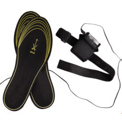 Hanging foot heating insole