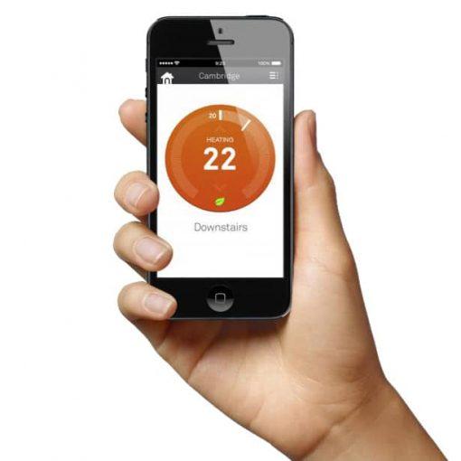 Temperature control app