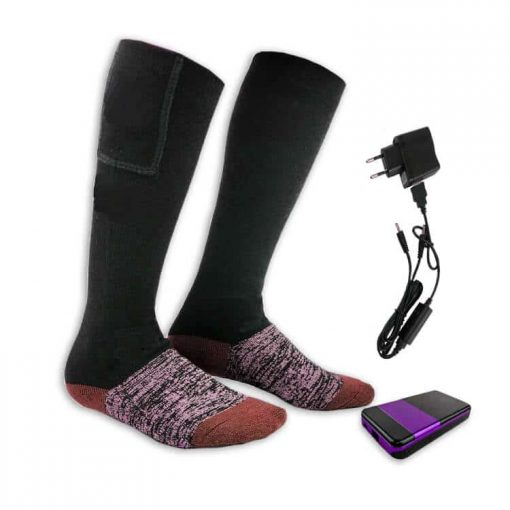Rechargeable heated socks 2