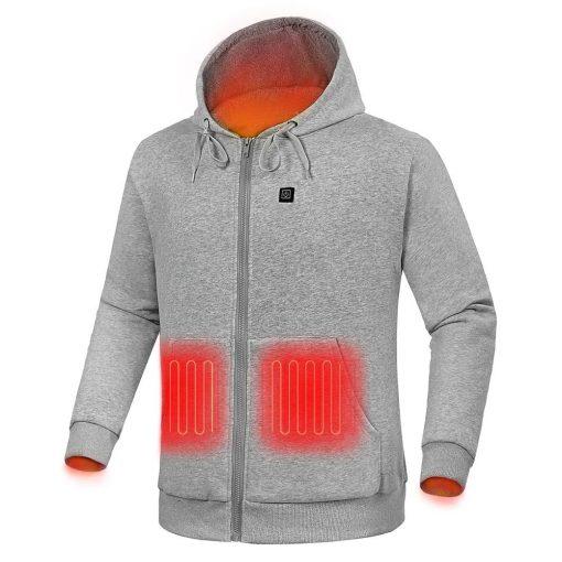 Custom heated hoodie 1
