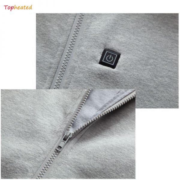 Custom heated hoodie 14