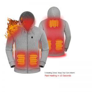 Custom heated hoodie 2
