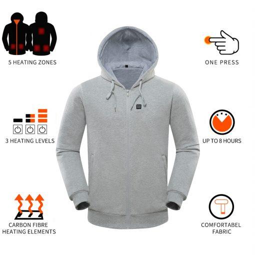 Custom heated hoodie 4