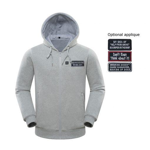 Custom heated hoodie 5