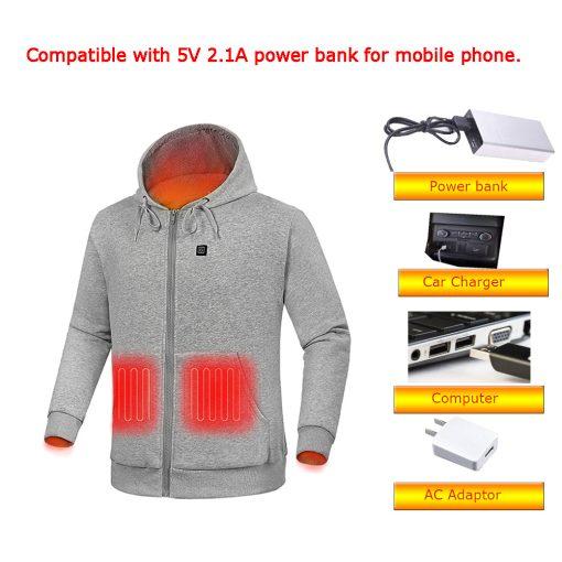 Custom heated hoodie 6