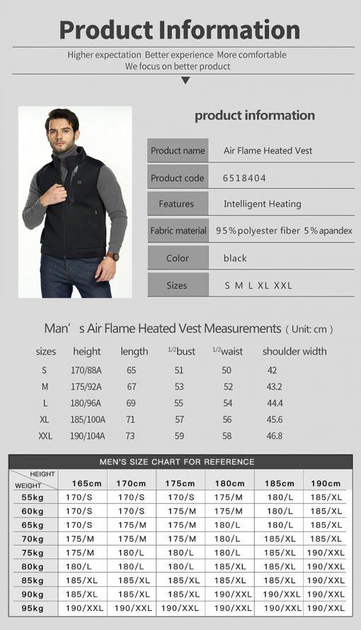 heated vest 10