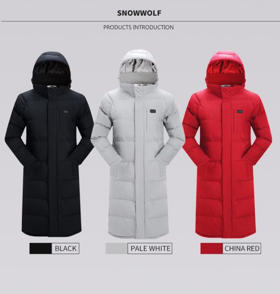long heated Jacket 5
