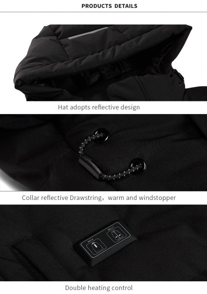 long heated Jacket 7