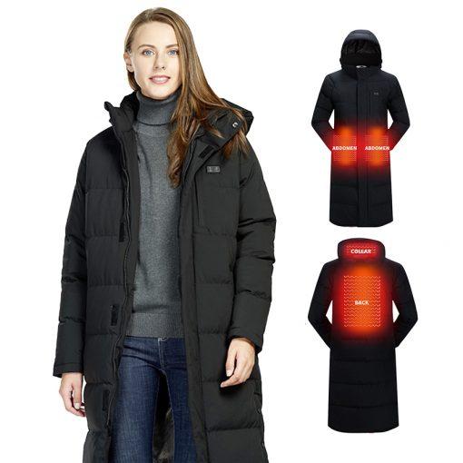 long heated Jacket 1