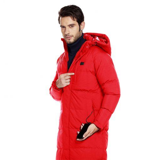 long heated Jacket a5